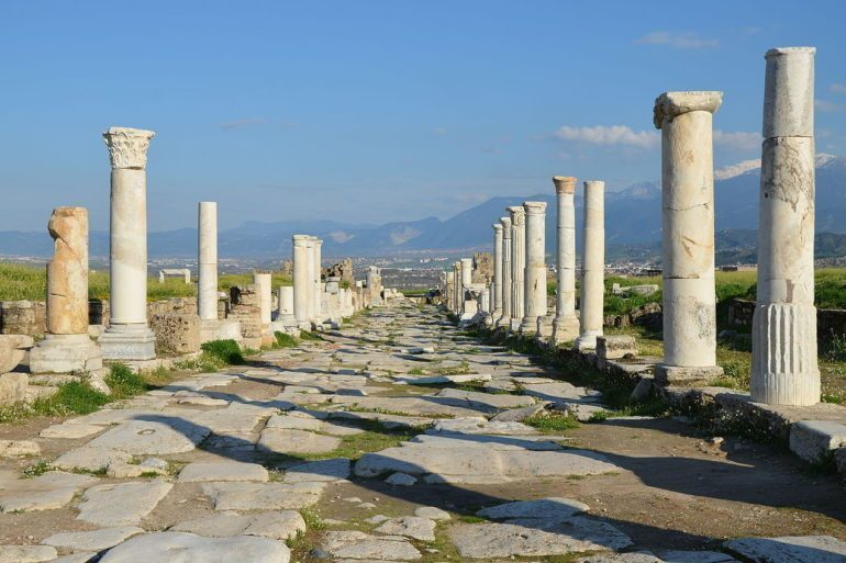 Laodicea was an important centre for art, commerce and trade in ancient Anatolia and is in the heartland of modern Turkey, popular with tourists.