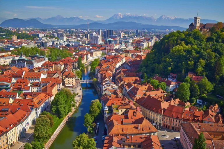 Ljubljana is one of the four cities nominated for the title.