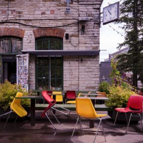 The Hektor Container is the first hotel to open in Telliskivi which is home to many artists' studios, bars, restaurants and clubs.