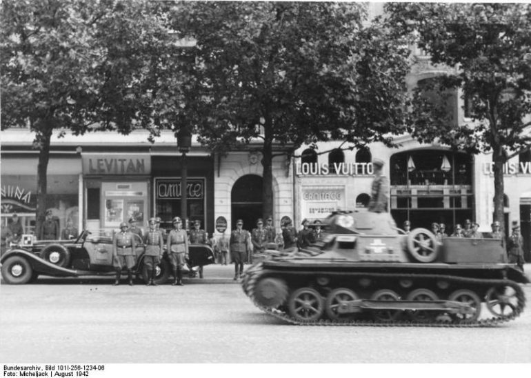 Paris in 1942