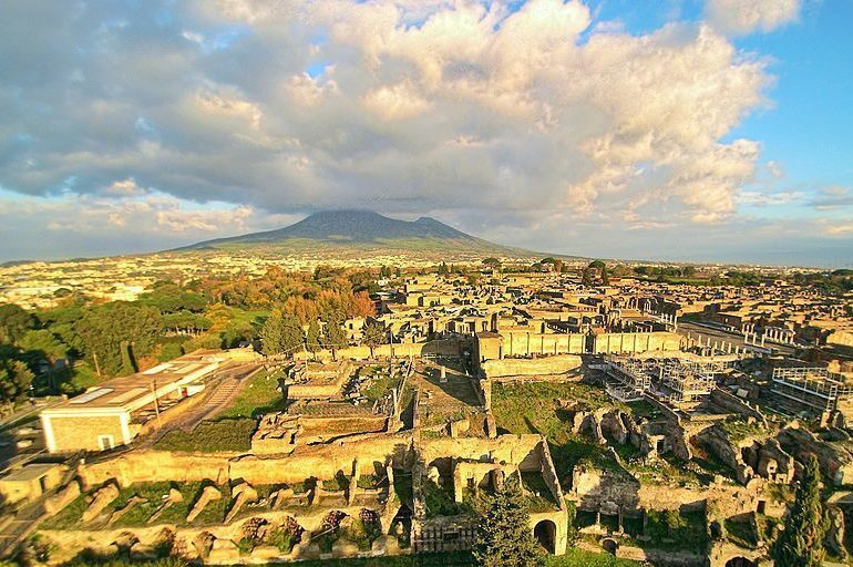 Pompeii is now a UNESCO World Heritage Site.