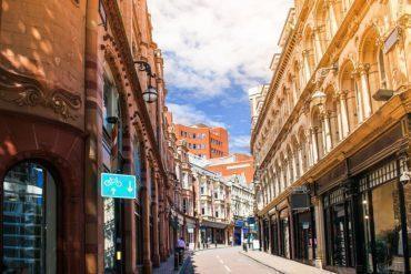 City centre Birmingham , England