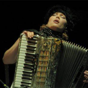 DakhaBrakha performance by Iryna Kovalenko.