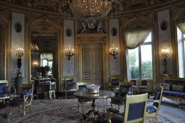 An example of 19th Century French interiors at Palais de la Légion d'Honneur.