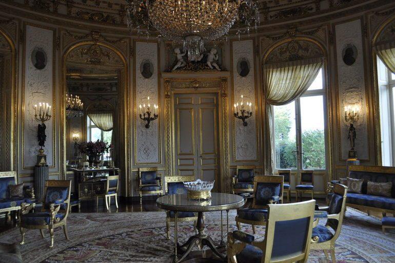An example of 19th Century French interiors at Palais de la Légion d'Honneur.