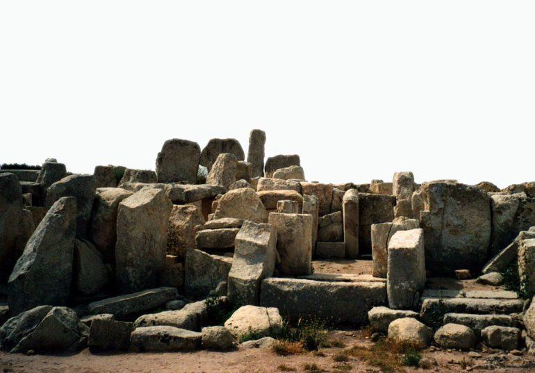 Hagar Qim temple complex, Malta.