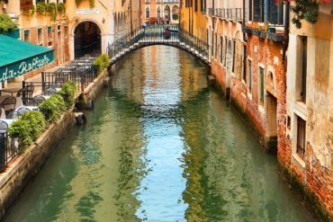 The famed Venetian canals.