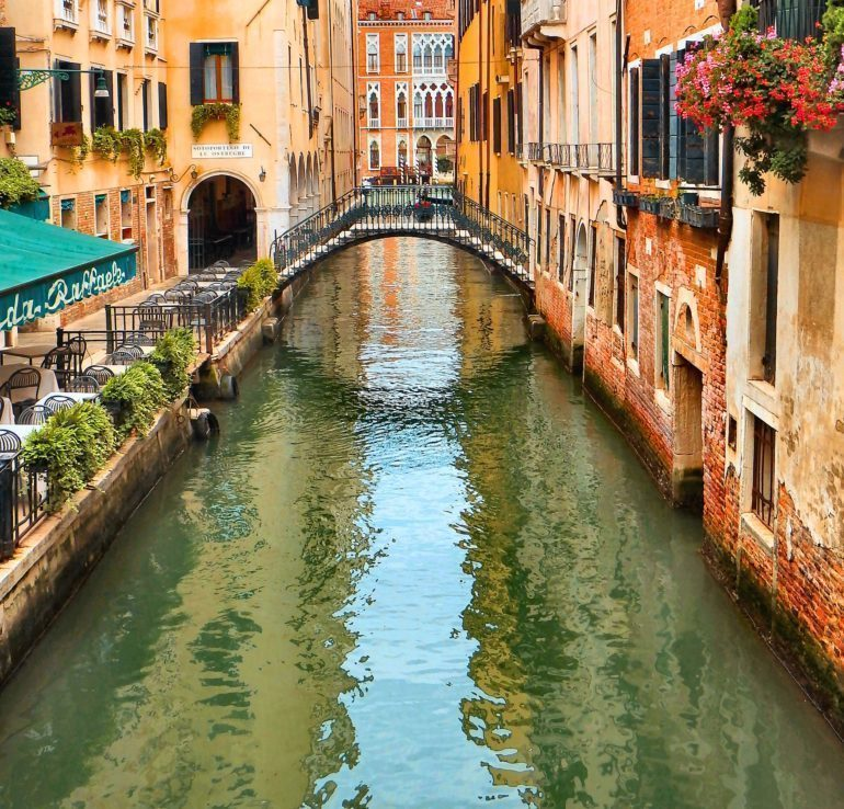 The economy of Venice has been devastated by the lack of tourists post pandemic.