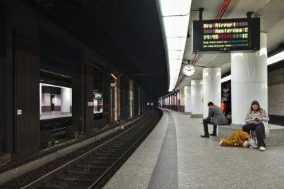 Brussels Central Station, Belgium.