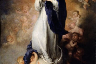 Murillo painted about two dozen versions of the painting with Immaculate Conception of Soult being the most famous one due to its triumphant picture of Mother Mary.