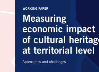 ESPON working paper 'Measuring economic impact of cultural heritage at territorial level'