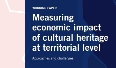 ESPON working paper 'Measuring economic impact of cultural heritage at territorial level'