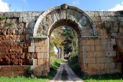 Porta di Giove at Falerii Novi, Italy.