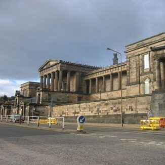 The Old Royal High School in Edinburgh is in the at Buildings At Risk Register (BARR).
