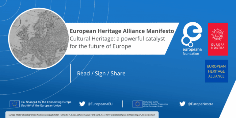 European Heritage Alliance Manifesto