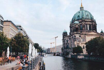 Museum Island in Berlin, Germany.