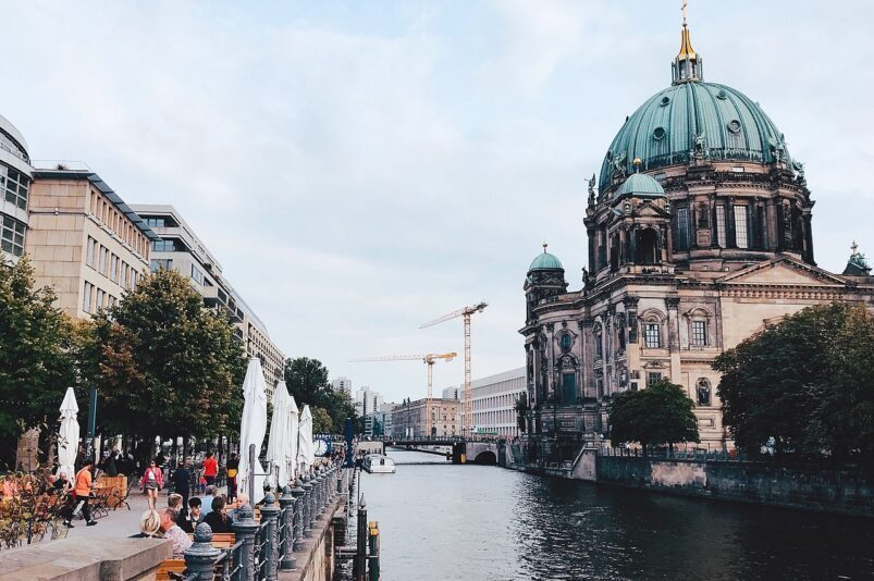 Museum Island in Berlin, Germany.