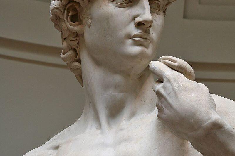 """Il """"David"""" di Michelangelo era una delle statue a cui sarebbe stata """"data vita""""."""