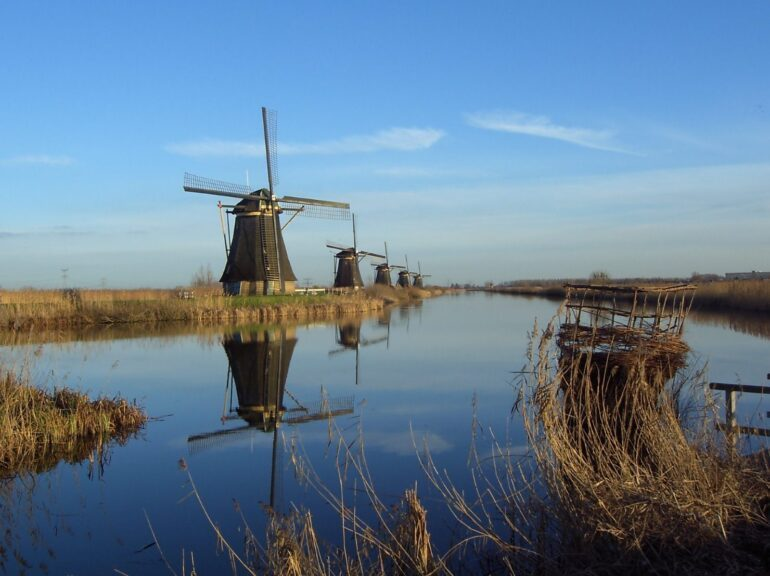 Kinderdijk in the Netherlands