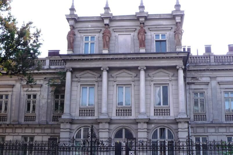 Știrbey Palace in Bucharest