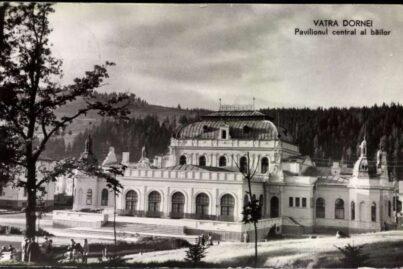 A 1935 postcard depicting the Bailor Casino.
