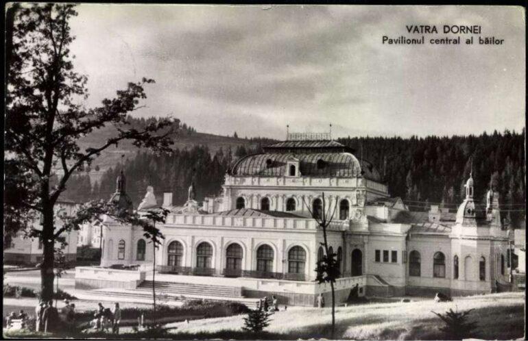 Une carte postale de 1935 représentant le Bailor Casino.