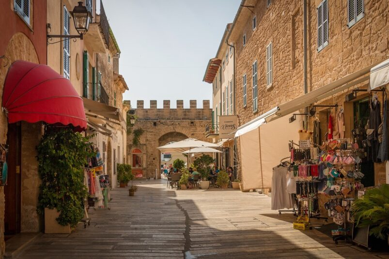 Alcudia in Majorca, Spain.
