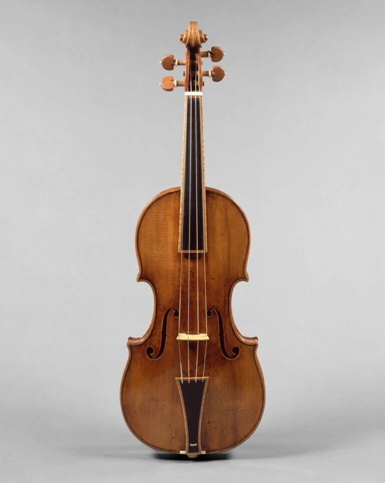 'The Gould' a Cremona violin made by Stradivarius, the greatest violin maker. Now displaced in Met Museum, New York.