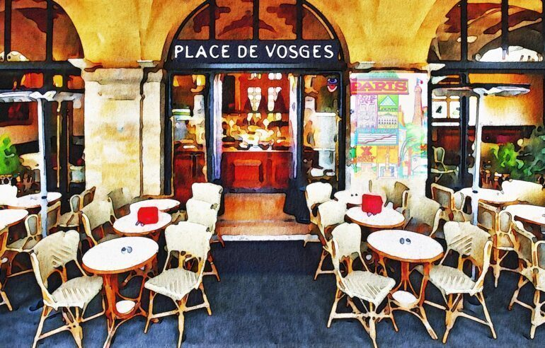 Bistros and cafes are an iconic part of Parisian culture.