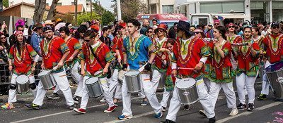 Carnival in Limassol, Cyprus.