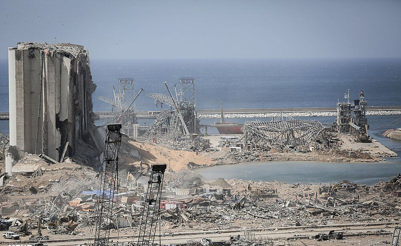 Explosions in Beirut, Lebanon, 2020