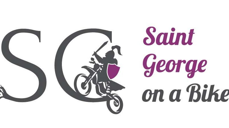 Saint George on a Bike