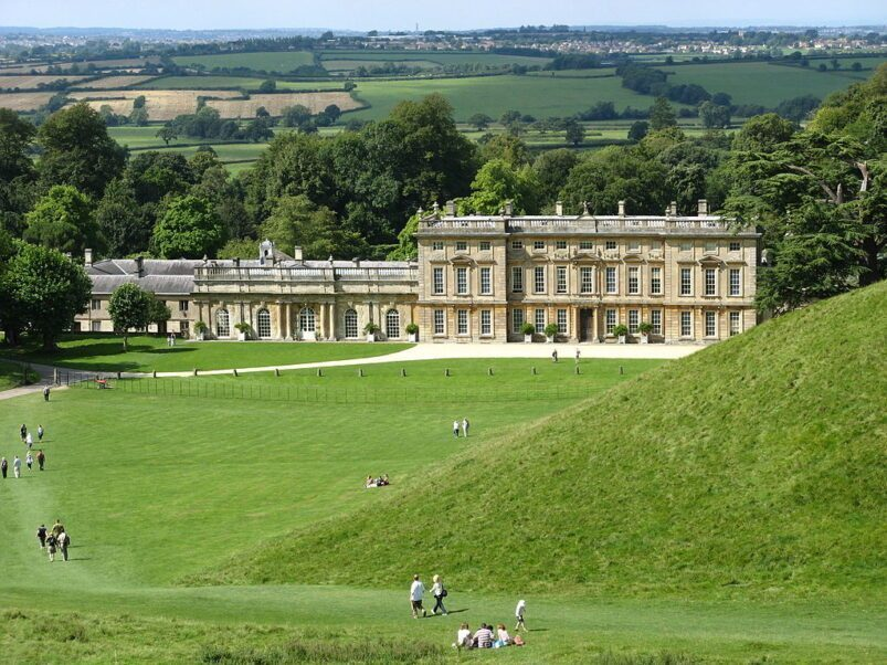 Dyrham Park is on the National Trust.