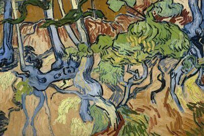 Tree Roots is believed to be Van Gogh's last painting.
