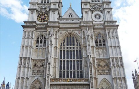 A sacristy is a room in a church where a priest prepares for a service, and where vestments and articles of worship are kept. Westminster Abbey, London