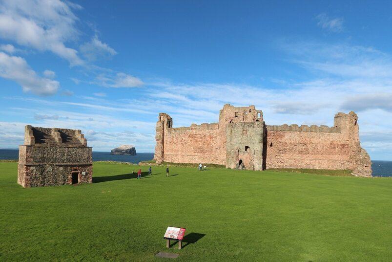 Tantallon Castle in Scotland