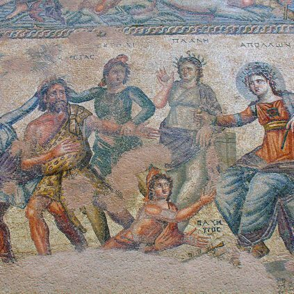 House of Dionysos Mosaic, Paphos.
