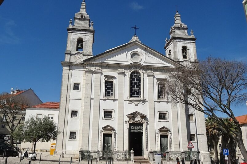 The Church of Santa Isabel in Lisboa, Portugal