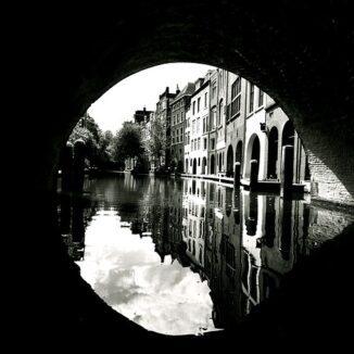 Utrechtse canal, The Netherlands.