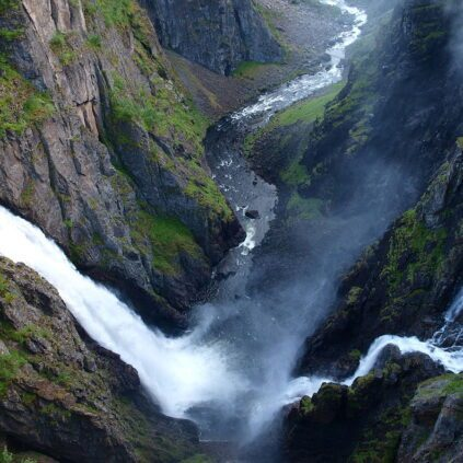 Voringsfossen Waterfall, Norway