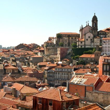Old city of Porto