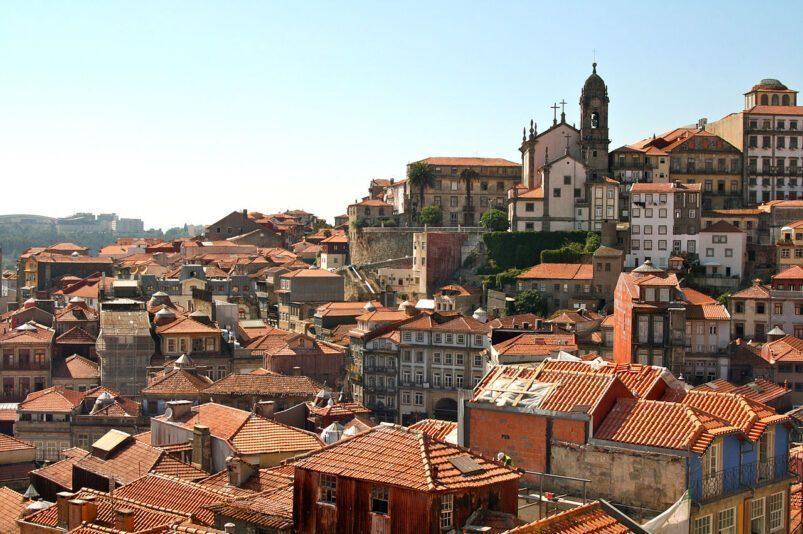 Old city of Porto