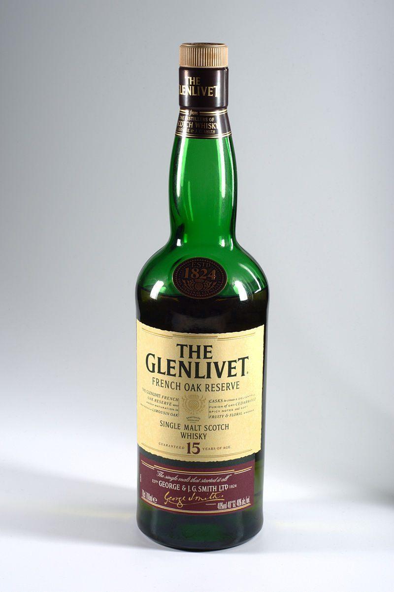 Glenlivet Whisky.
