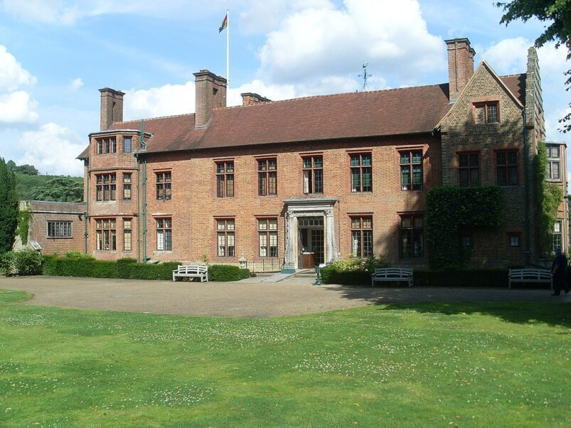 Chartwell House, the Kent residence of Churchill.