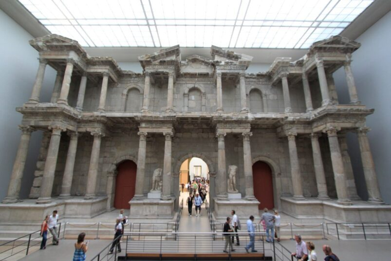 Pergamon Museum in Berlin.