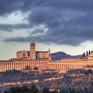 Skyline of Assisi, Italy Faro Concention