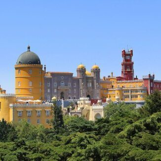 Palace of Pena in Sintra, Portugal.