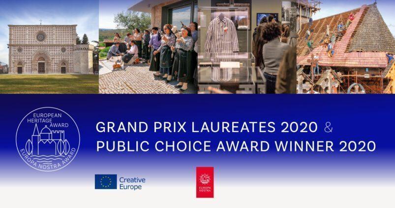 European Heritage Awards / Europa Nostra Awards 2020