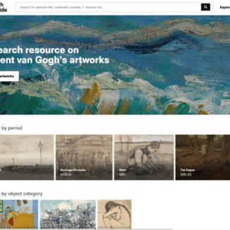 Homepage Van Gogh Worldwide