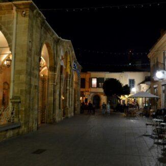 Faneromeni Square in Nicosia, Cyprus.